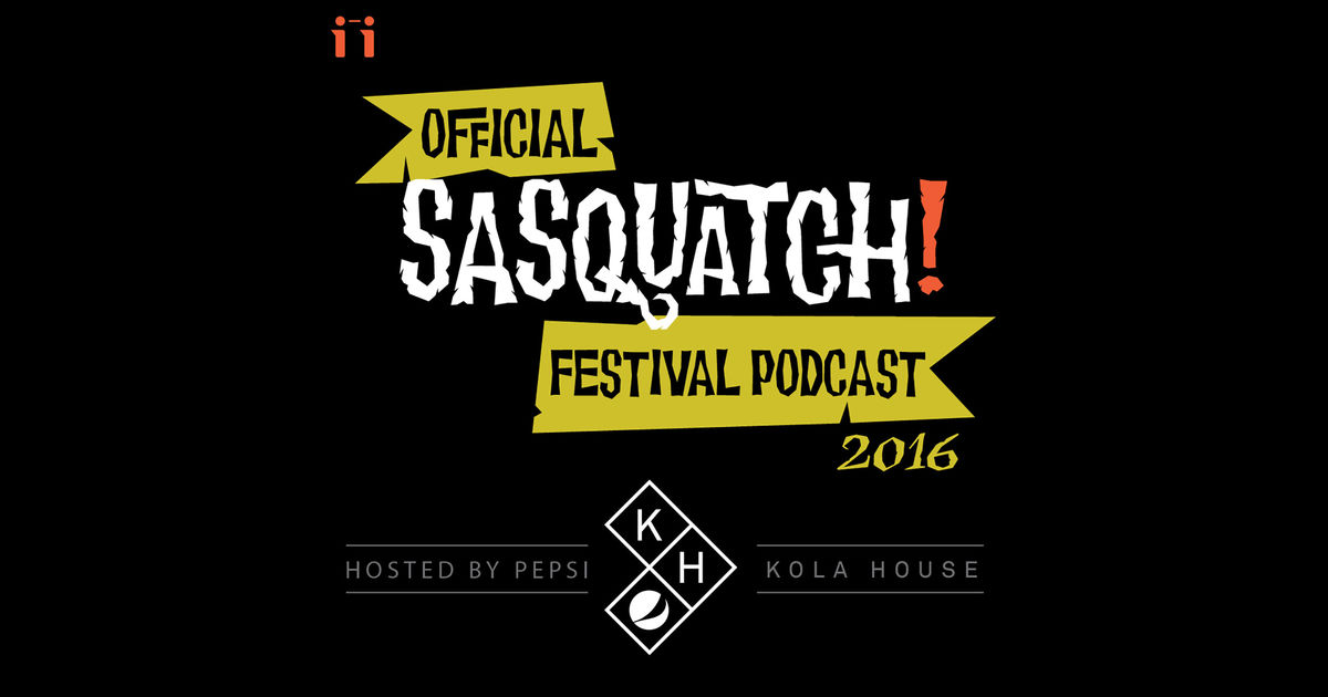 Listen to The Official Sasquatch! Festival Podcast with John Norris