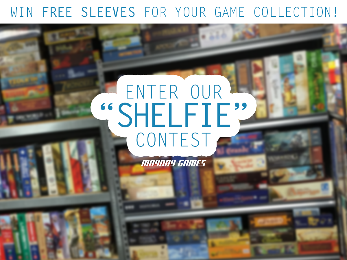Official Shelfie Contest - Win Free Sleeves For Your Entire Collection