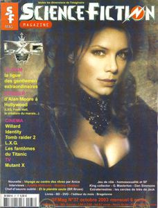 Science-Fiction Magazine 37 de Alain PELOSATO, Alan MOORE, Kriss MADROCK,  ANICE, Jean-Michel ABRASSART, Amélie NOTHOMB, Maxime CHATTAM ()